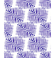 Seamless Line Pattern vector image