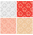 set of seamless textures with vintage elements vector image vector image