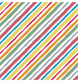 striped watercolor lines color seamless pattern vector image