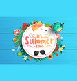 summer background design 2019 5 vector image vector image