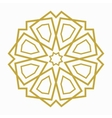 Islamic or arabic shape vector image