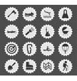 active recreation icon set vector image vector image
