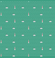 seamless marine pattern vector image vector image