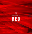 template red shapes triangles overlapping vector image vector image