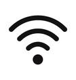 wifi signal icon vector image vector image