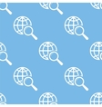 World scan seamless pattern vector image vector image