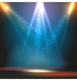 Show or dance floor background with vector image