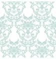 Baroque Vintage floral Damask pattern vector image
