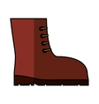 boots safety isolated icon vector image