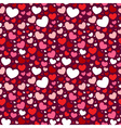 Cute Valentine love seamless pattern vector image vector image