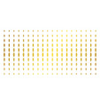freedom fire torch gold halftone matrix vector image