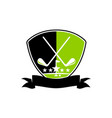 golf club academy vector image vector image
