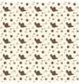 Seamless pattern - My kitchen 6 vector image