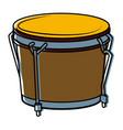 african drum music instrument vector image vector image