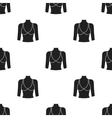 Breast icon in black style isolated on white vector image vector image