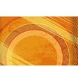 Comic Book Orange Grunge Background vector image