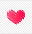 heart logo abstract modern icon vector image vector image