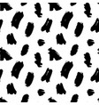 ink brush stains seamless pattern vector image vector image