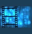 movie film vector image vector image
