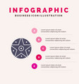 pentacle satanic project star infographics vector image vector image