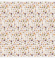 terrazzo seamless pattern abstract background vector image