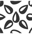 Drop icon seamless pattern on white background vector image