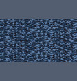 blue marine camouflage pattern seamless fabric vector image