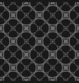 dark seamless pattern in black and gray colors vector image vector image