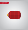 isolated water tank flat icon container vector image