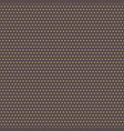 seamless modern pattern with dots vector image vector image