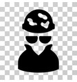 spotted spy icon vector image