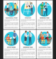 strategy and working task set vector image vector image