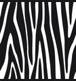 zebra lines seamless pattern stripes background vector image