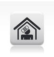 accident domestic icon vector image vector image