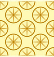 colored yellow circle seamless pattern shape art vector image vector image