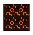 ethnic handmade ornament geometric and abstract vector image vector image