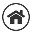 o2021-06-12-01home simple flat icon web homepage vector image