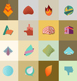 set Logo Design Elements Collection vector image vector image