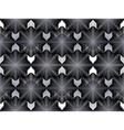 Geometric black and white stripy overlay seamless vector image