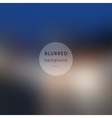 background Blurred Defocused Lights of Heavy vector image vector image