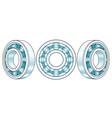 ball bearings vector image