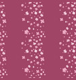 sophisticated floral seamless pattern vector image vector image