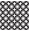 black gray and white circles vector image vector image