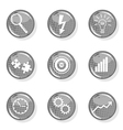 Business growth icon vector image vector image