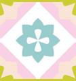 tile decorative floor tiles pastel pattern vector image vector image