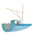 Boat icon cartoon style vector image vector image