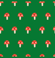 cute toadstools seamless kids pattern vector image vector image