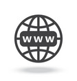Internet http address icon
