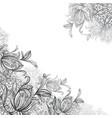mandalas and ornamental flowers vector image