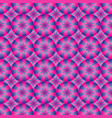 seamless geometrical pink and blue pattern vector image vector image